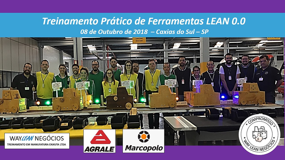 Treinamento prático de LEAN 0.0 - 22 de Setembro 2018
