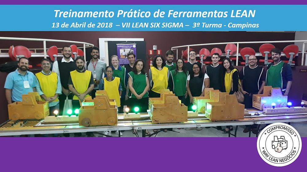 Treinamento prático de LEAN - Congresso LEAN SIXSIGMA - 2018 Campinas