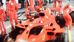 Falta de um dispositivo Poka Yoke na Formula 1 - Machuca Mecânico da equipe Ferrari
