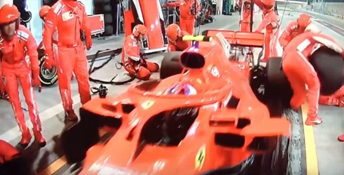 Pit stop Ferrari Kimi Raikkonen  GP Baren way lean negócios