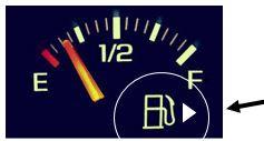 Marcador de Combustivel - Gerenciamento Visual - Way Lean Negócios