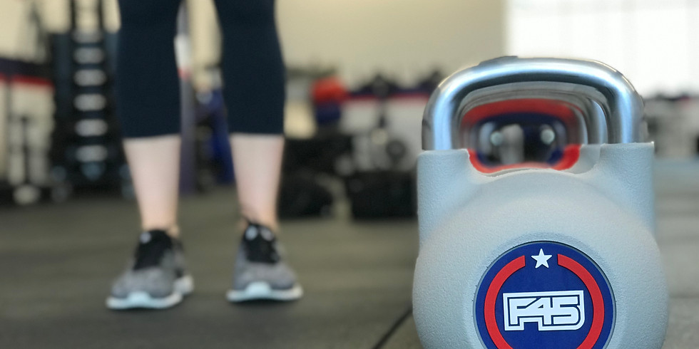 Complimentary F45 Fitness Class