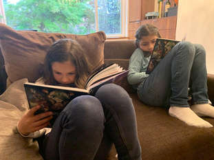 Amelia & Antonia Reading
