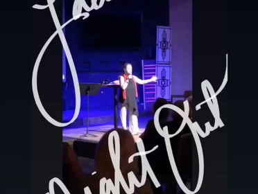 A little fun from my show last night!