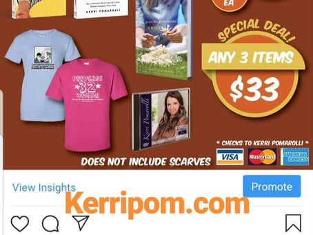 Christmas Is Here! - 20% off in Kerri Pomarolli Store