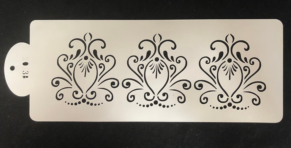 Reusable Damask Stencil