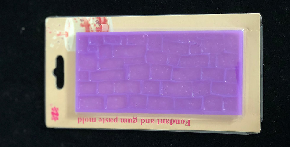 Brick Wall Silicone Mat