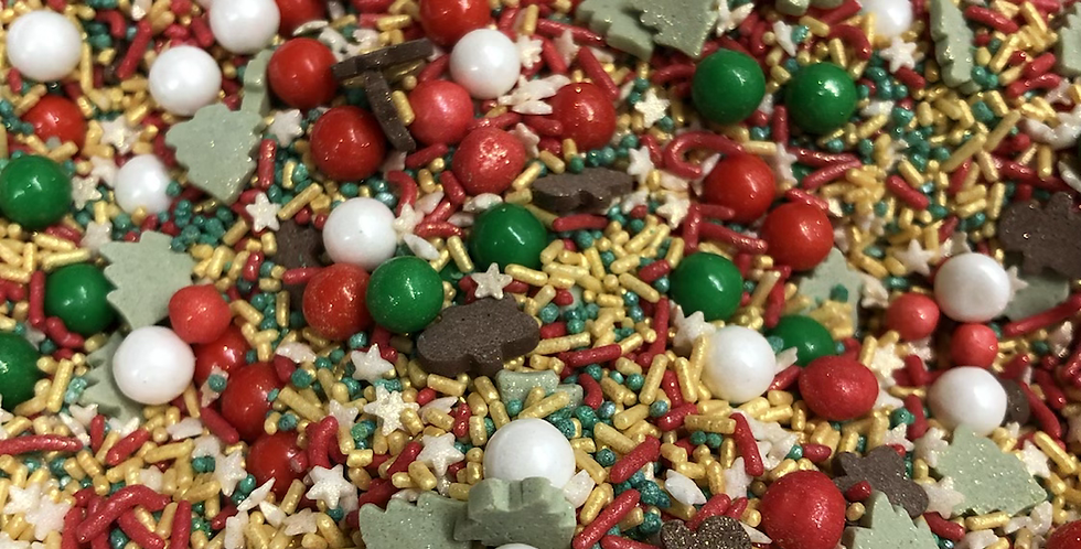 Christmas Medley Sprinkle Mix