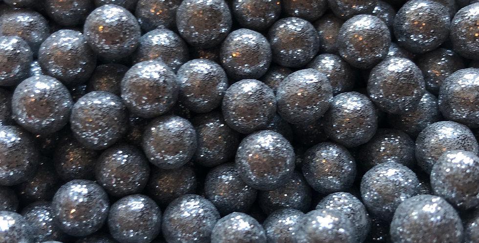 Silver bling balls