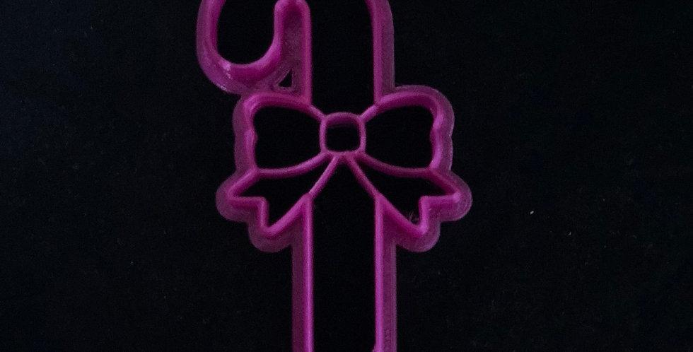 Candy cane cutter