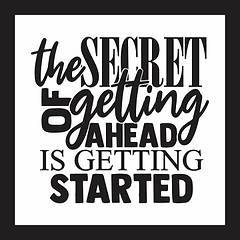 the secret of getting ahead blk border12 x 12.png