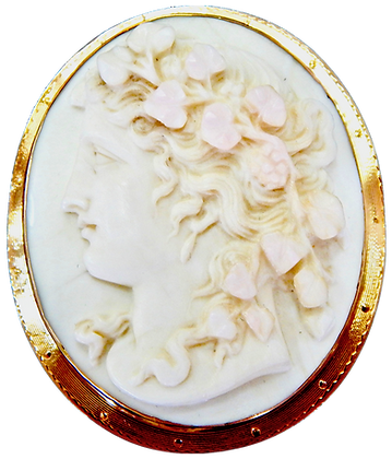 Large Cameo Brooch/Pendant