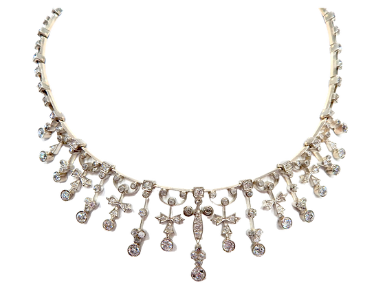 Diamond Cinderella Necklace