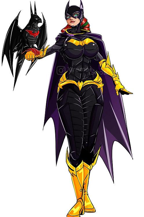 Cassie as Batgirl