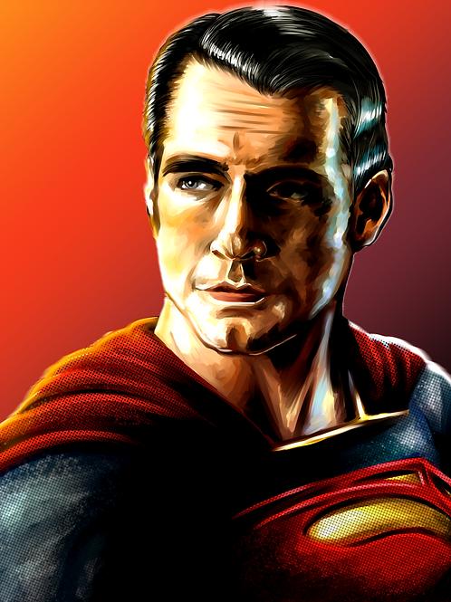Superman Digital Painting