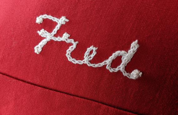 Fred Bowling Shirt Stitching Detail