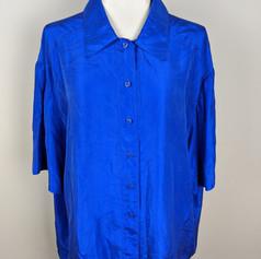 Electric Blue Silk Top (handmade).jpg
