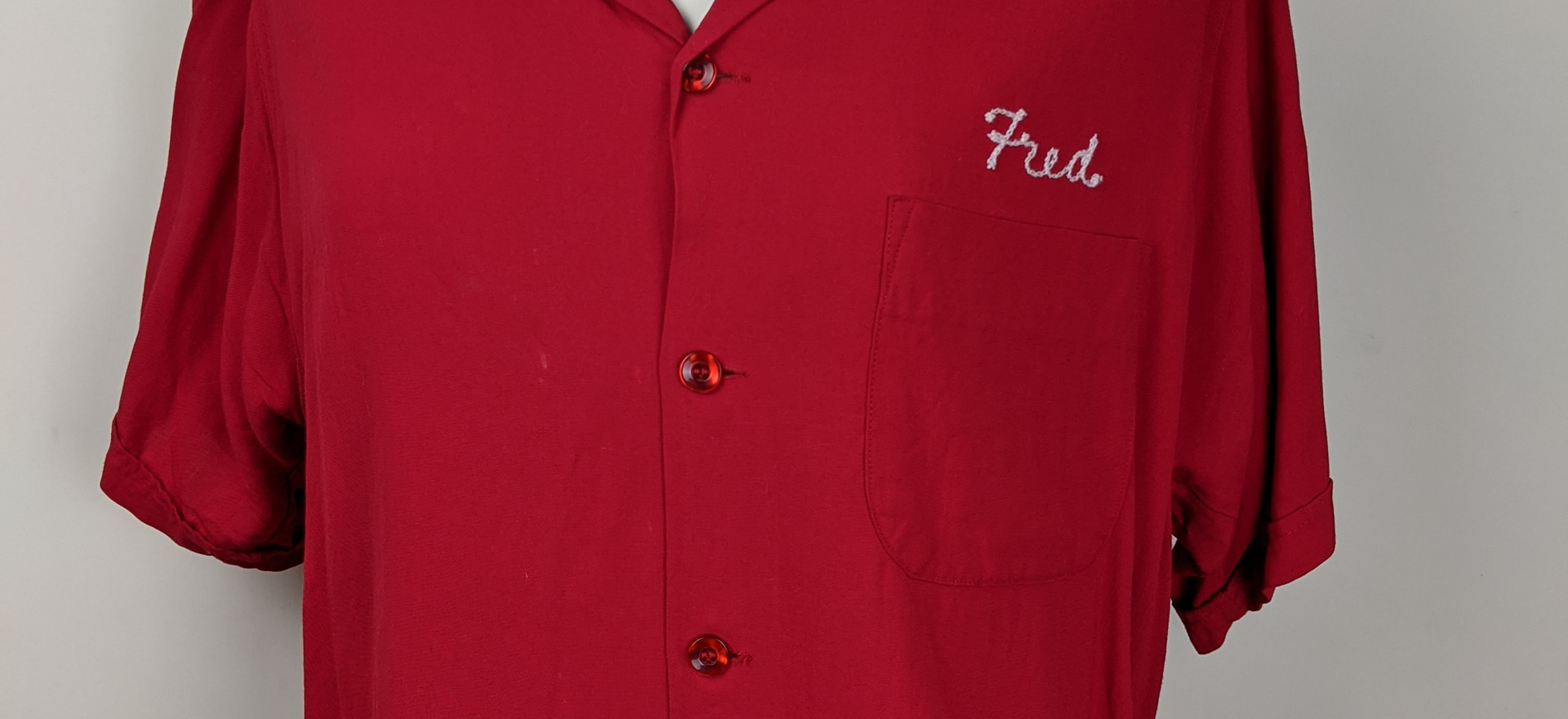 Fred Bowling Shirt Full Front View