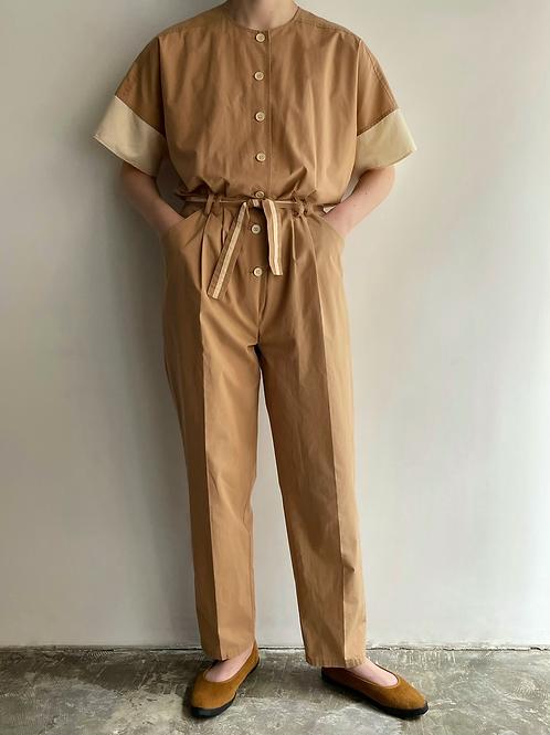 bicolor jumpsuits