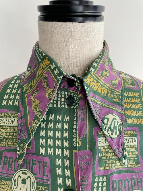 70's all over print shirt