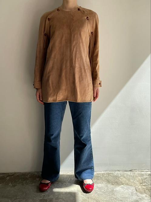 suede pullover