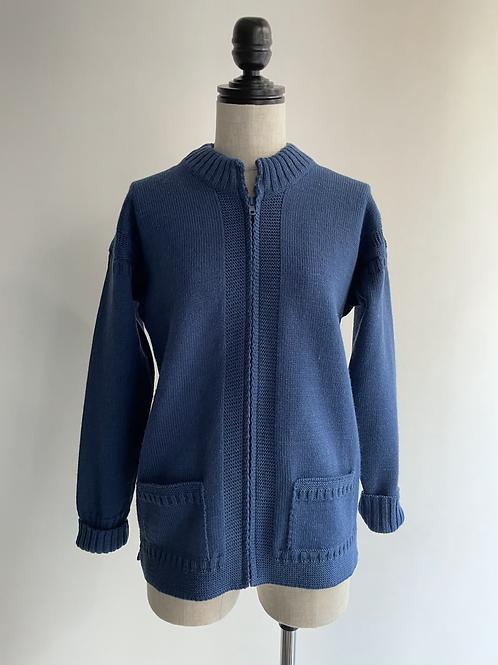 guernsey knit cardigan
