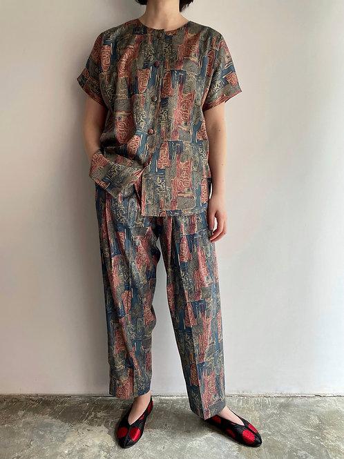 Thai silk set