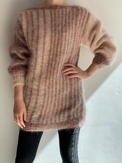 mohair hand knitted sweater