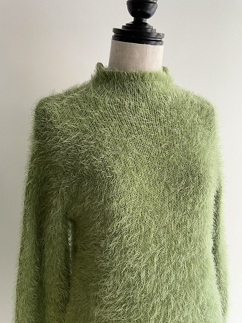 shaggy pullover