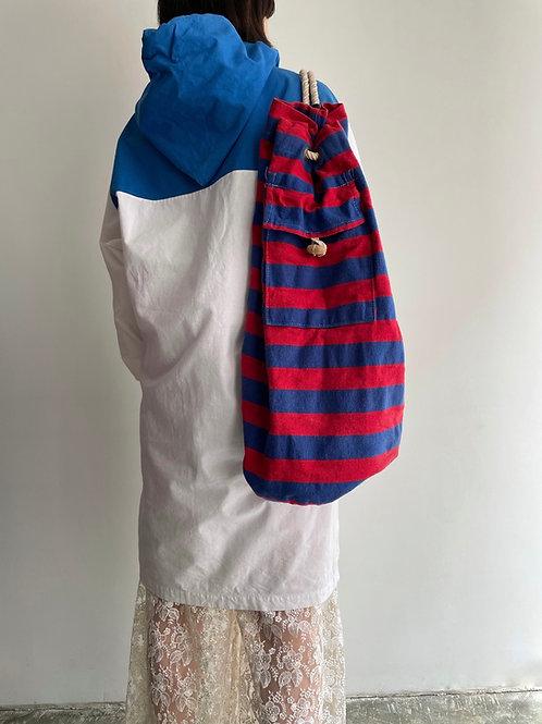 stripe rope bag