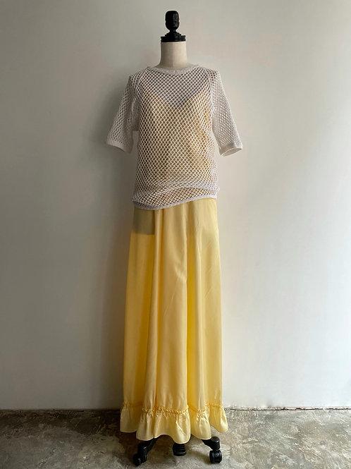 cotton mesh T-shirt
