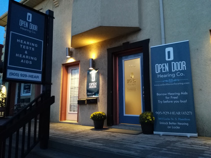 Open Door Hearing Co. storefront