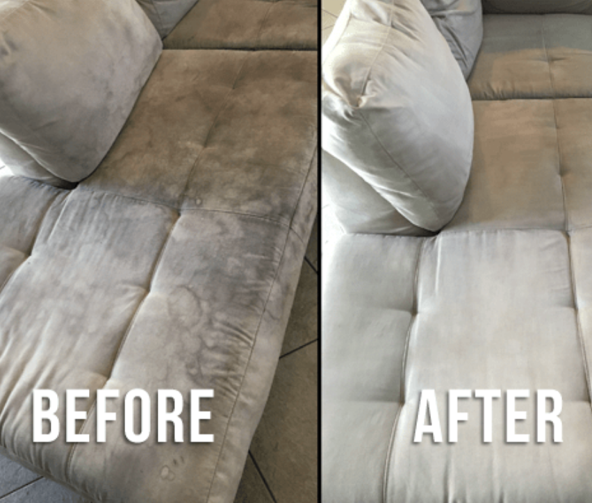 Professionally Cleaned Couch