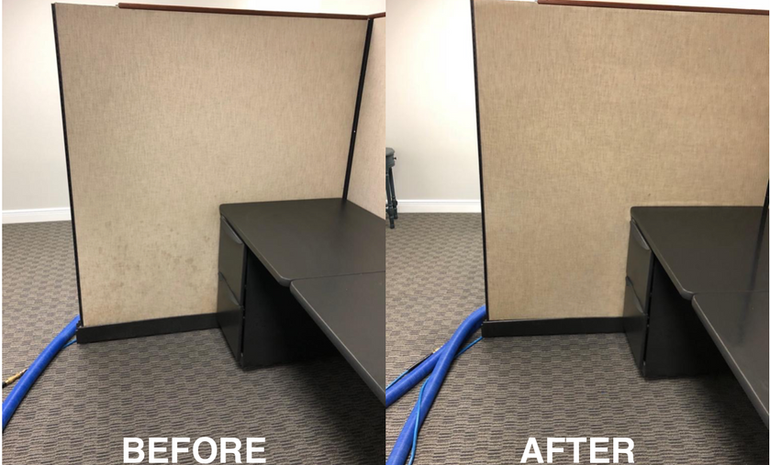 Commercial Cleaning Job
