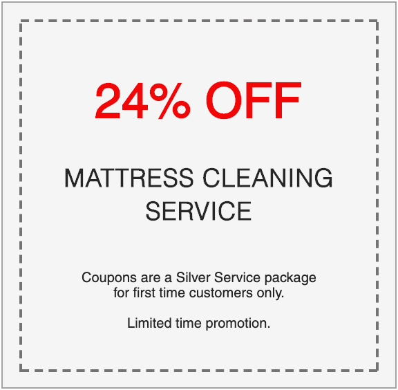 24% off professional mattress cleaning