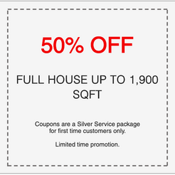 50% off professional carpet cleaning