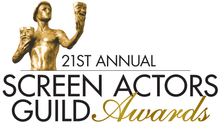 My Predictions (and wishes) for the 21st Annual SAG Awards.  #firsttime #SAG-AFTRA?