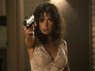 USA Today - Sneak Peek: Salma Hayek takes aim in 'Everly'