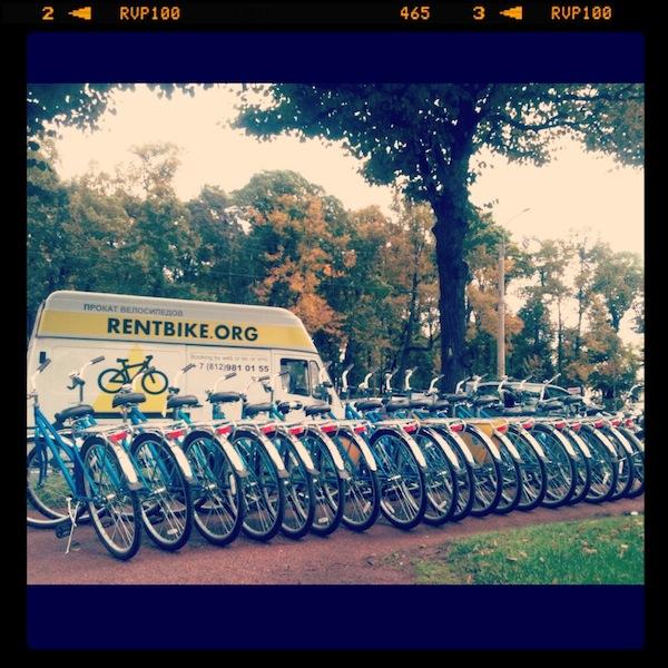 прокат велосипедов на свадьбу