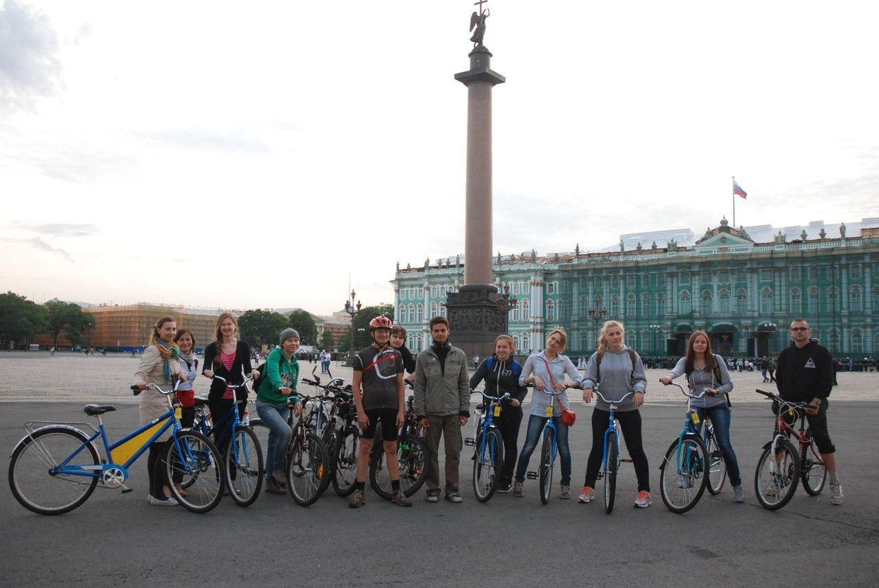 прокат велосипедов петербург