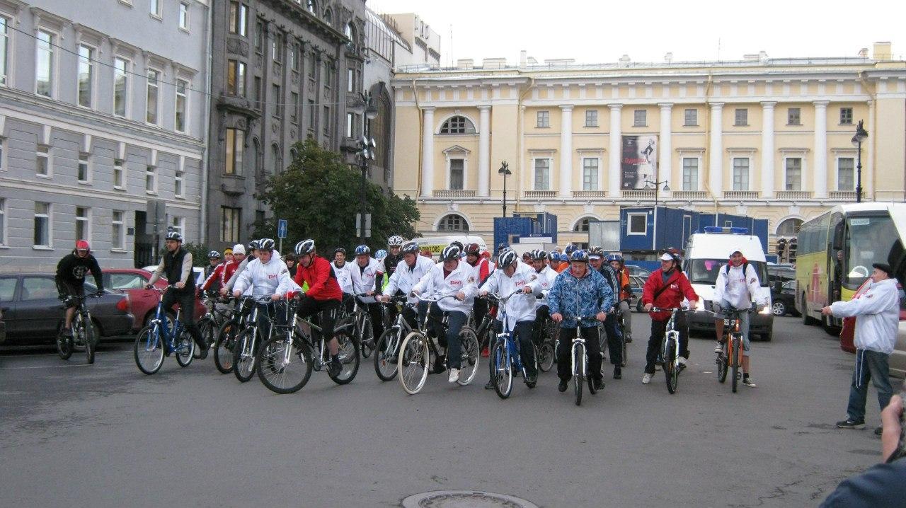 прокат велосипедов РЖД
