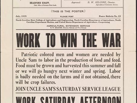 History Throwback:Free Black Labor for a European War
