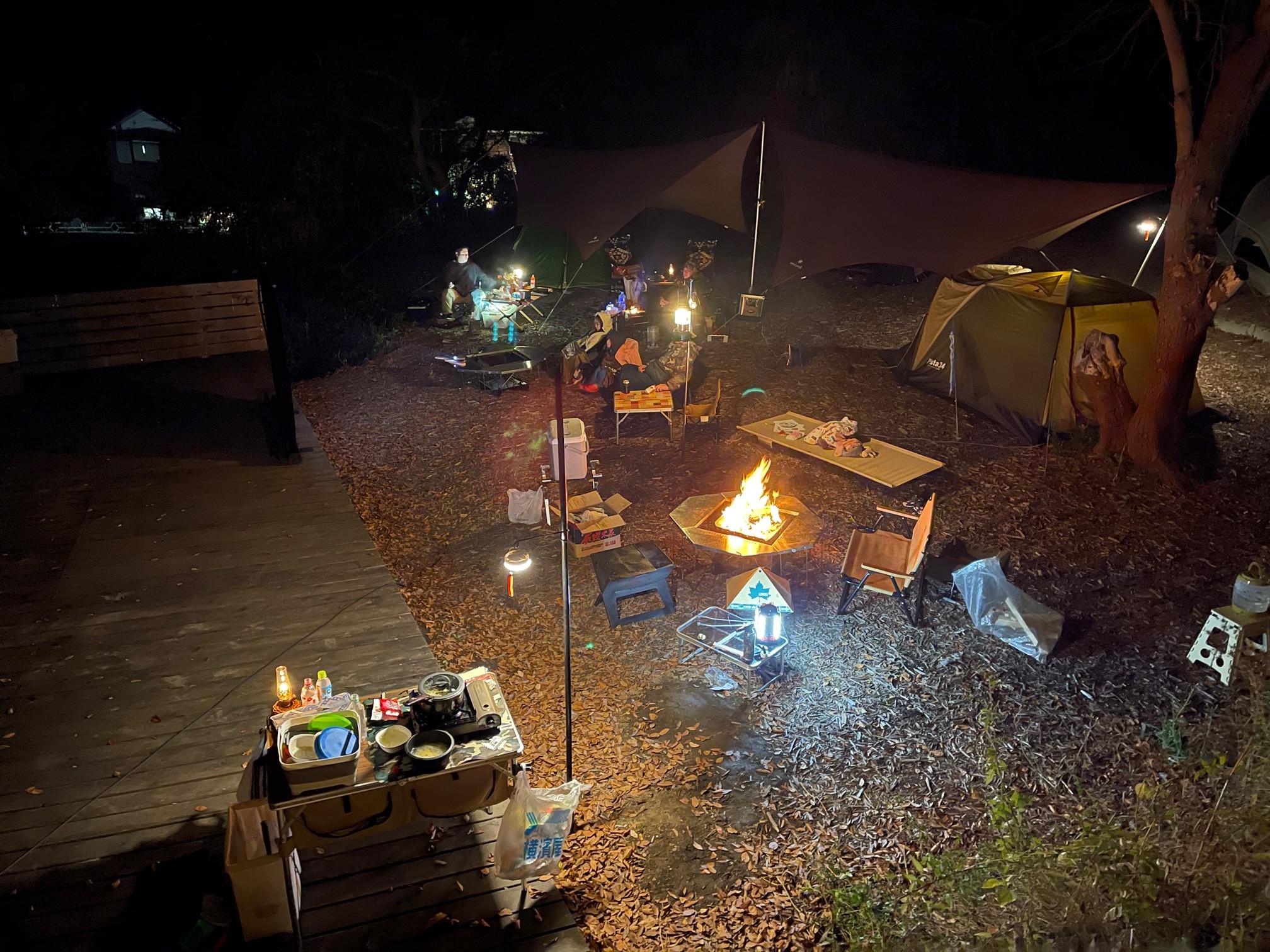 初心者の為のキャンプ体験