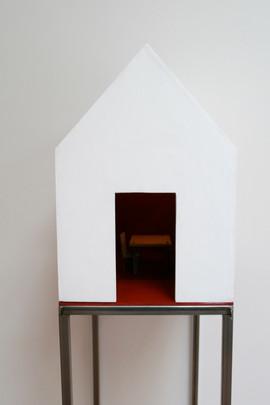 De wachtkamer in kliniek Viasana, Mill. 2009.