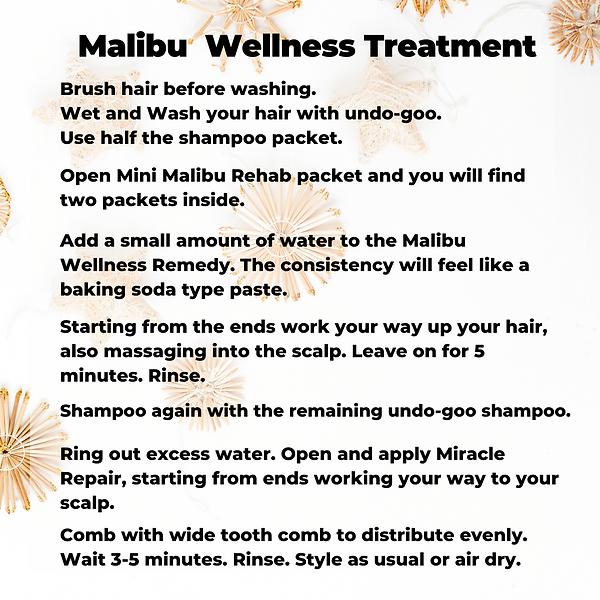 Holiday Malibu Treatments