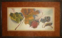 LeavesAcrylic