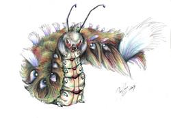 Caterpillar_1_by_dragonnan
