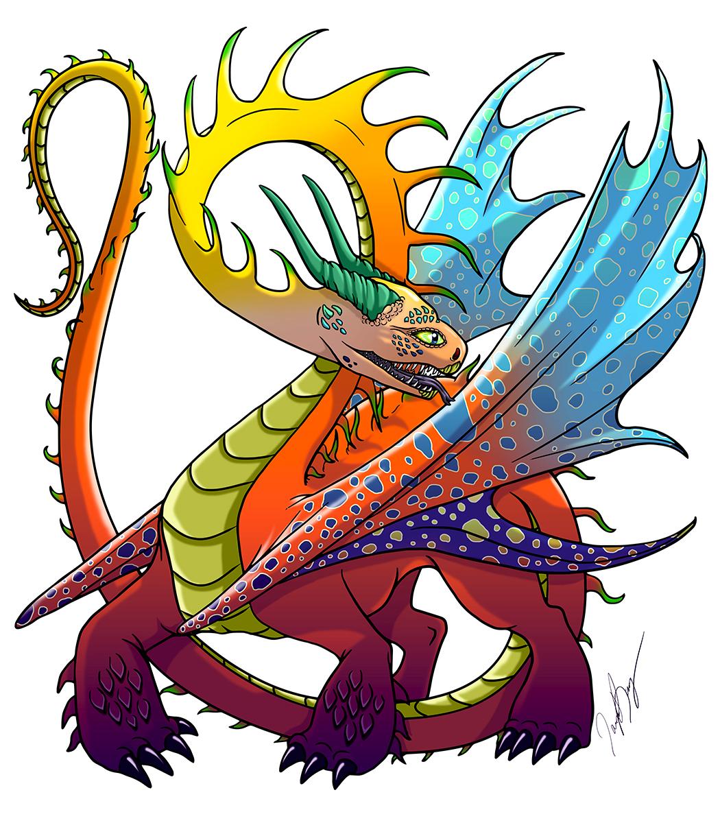 Tall Dragon