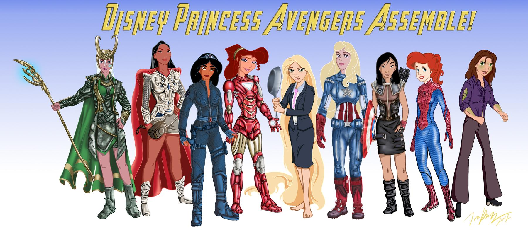 Disney Princess Avengers