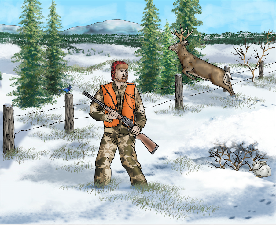Untitled Deer Hunting Book